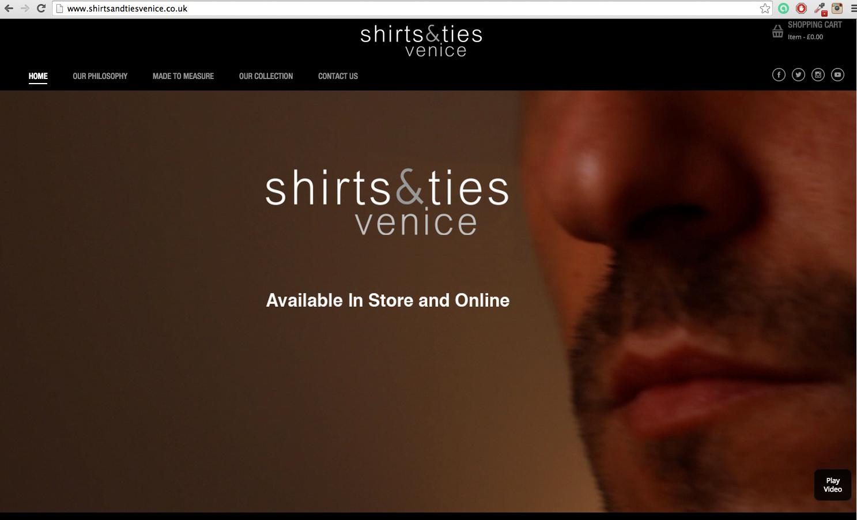 Shirts & Ties venice, magento