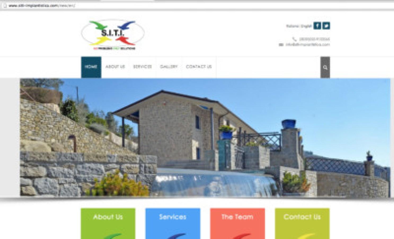 siti impiantistica, website