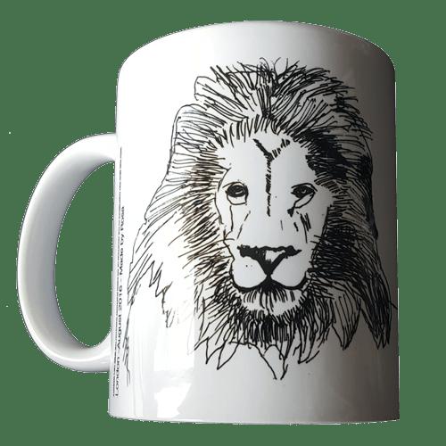 african lion designed by zero due design