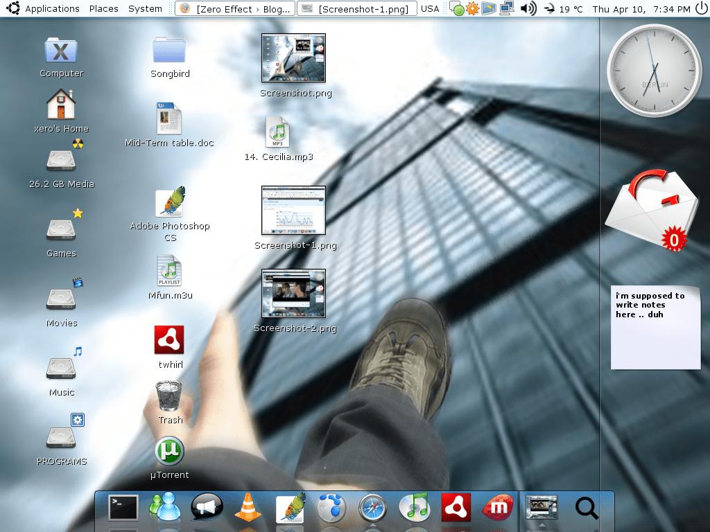 My Ubuntu Linux Desktop Screenshots