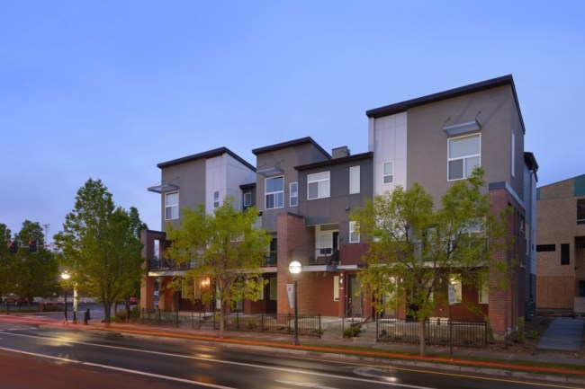Perrin's Row townhomes