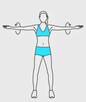 Arm Circles - 10 Best Shoulder Exercises to Tone and Lose Arm Fat Fast