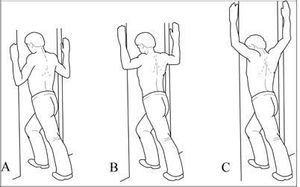 Door Frame Stretch - Upper Back Stretches:15 Best Moves Upper Back Pain Relief