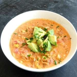 Homemade Coconut Milk Curry Soup