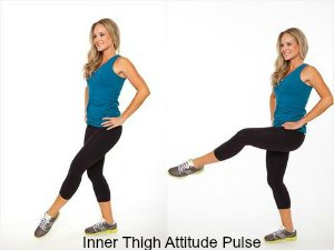 Inner Thigh Attitude Pulse -7 Best Leg Exercises for Women at Home: Slim and Toned Legs
