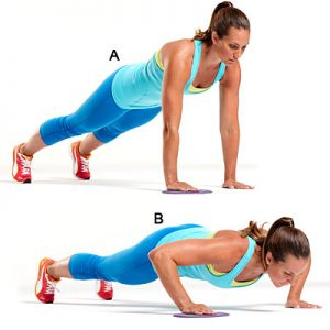 Push-Ups - 10 Best Shoulder Exercises to Tone and Lose Arm Fat Fast