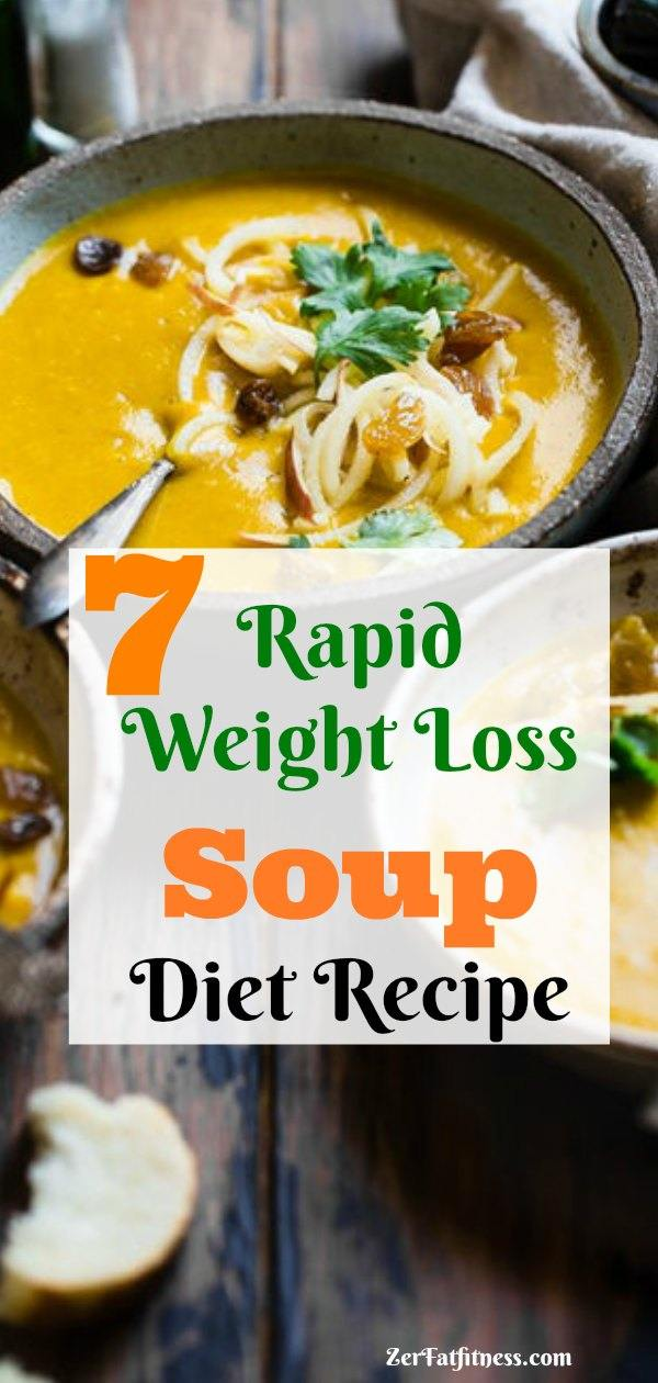 Rapid Weight Loss Soup Diet Recipe