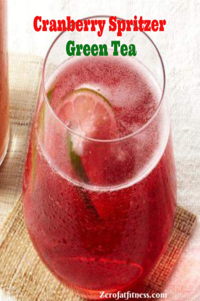 Cranberry Spritzer Green Tea -7 Best Green Tea for Weight Loss and Belly Fat Burner