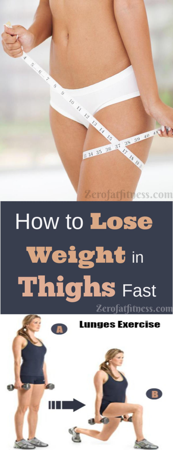 How to Lose Weight in Thighs Fast | Get Rid of Thigh Fat in Less than a Week