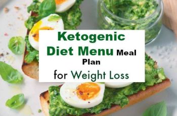 Ketogenic Diet Menu Meal Plan for Weight Loss