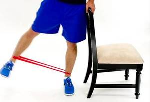 Standing Hip Abduction- 10 Best Resistance Band Exercises for Legs and Glutes