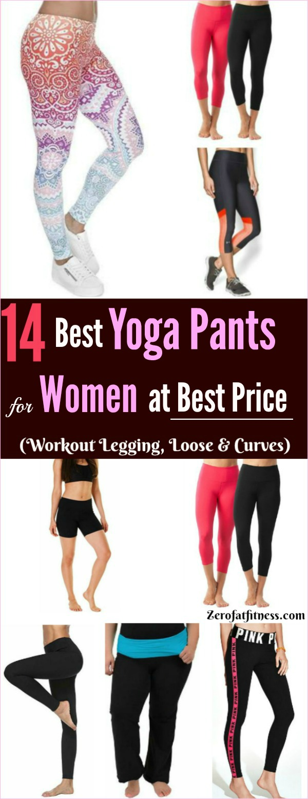 14 Best Yoga Pants for Women at Best Price - Yoga Workout Leggings, Loose and Curve, Outfit, Loose, Lulu lemon, Victoria Secret and More