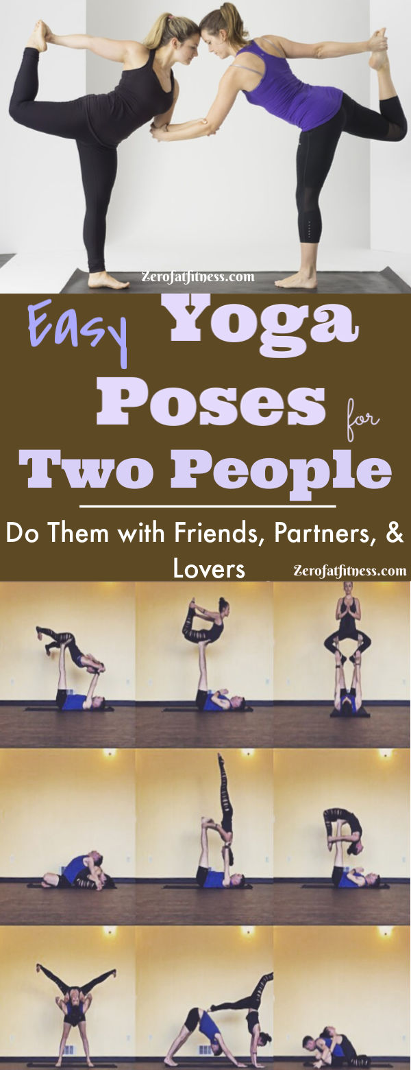 40 Easy Yoga Poses for Two People: Friends, Partners, and Lovers