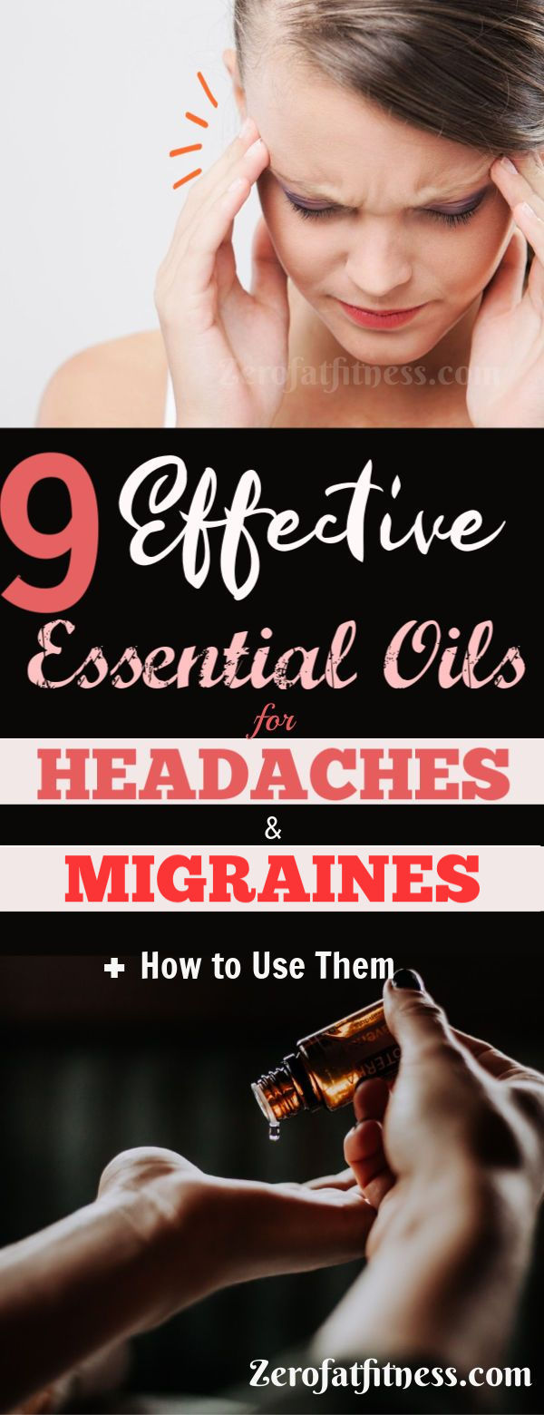 9 Best Essential Oils for Headaches and Migraines + How to Use Them at Home