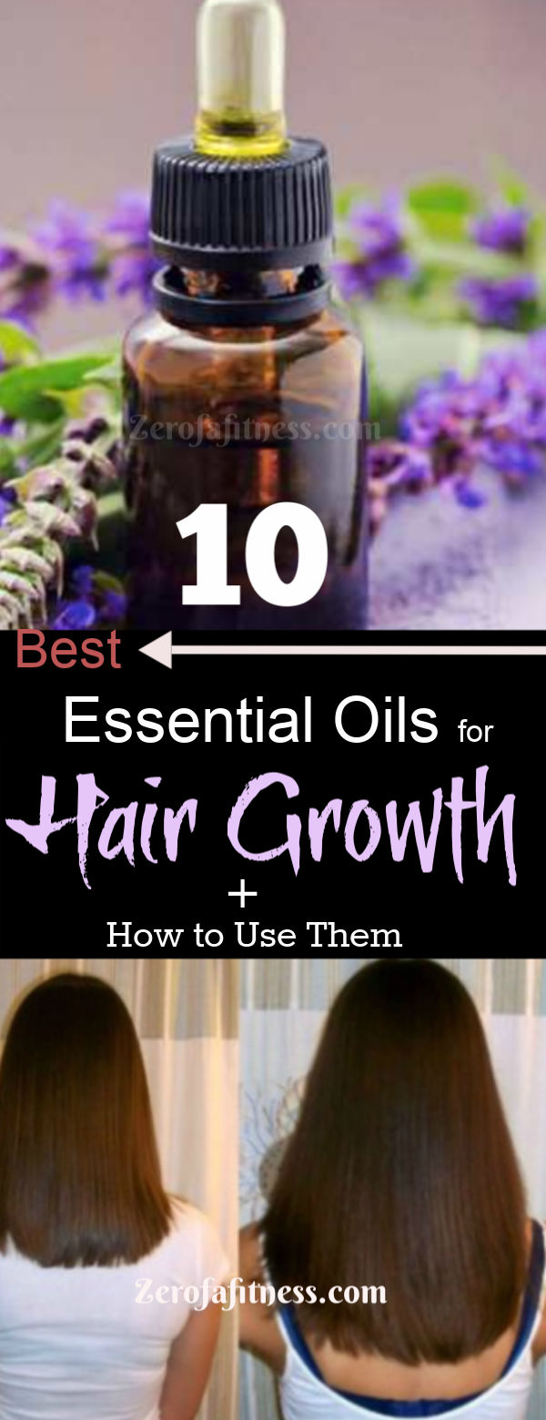 10 Best Essential Oils for Hair Growth and Thickness. Try these essential oil recipes to regrow lost hair and dry damaged hair fast at home. Cedarwood essential oil, Lavender oil for hair growth, peppermint oil, Rosemary oil for hair loss and more.