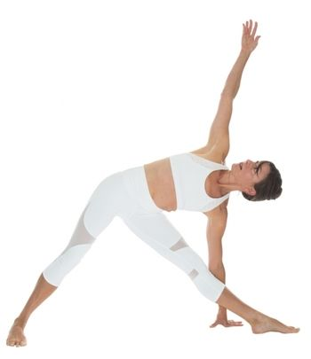 Triangle pose -10-Minute Beginner Yoga Poses for Flexibility and Strength