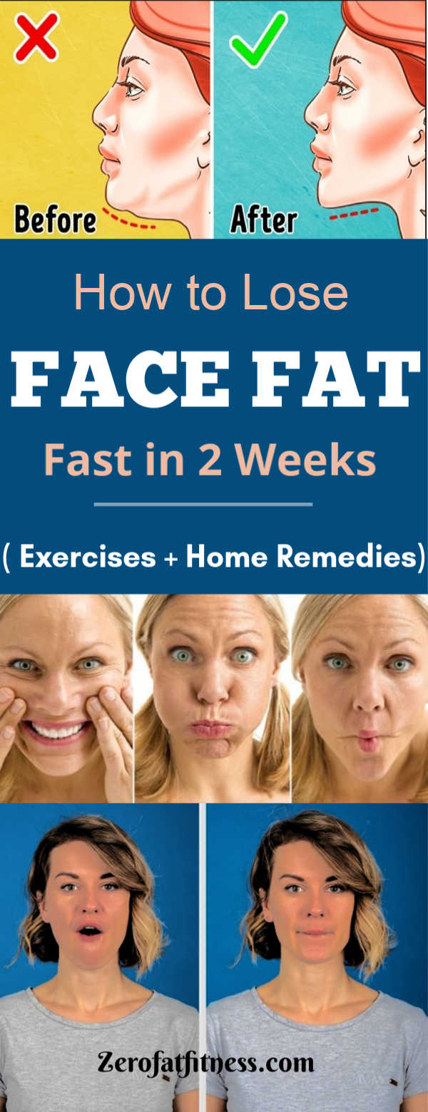how do you lose weight on your face
