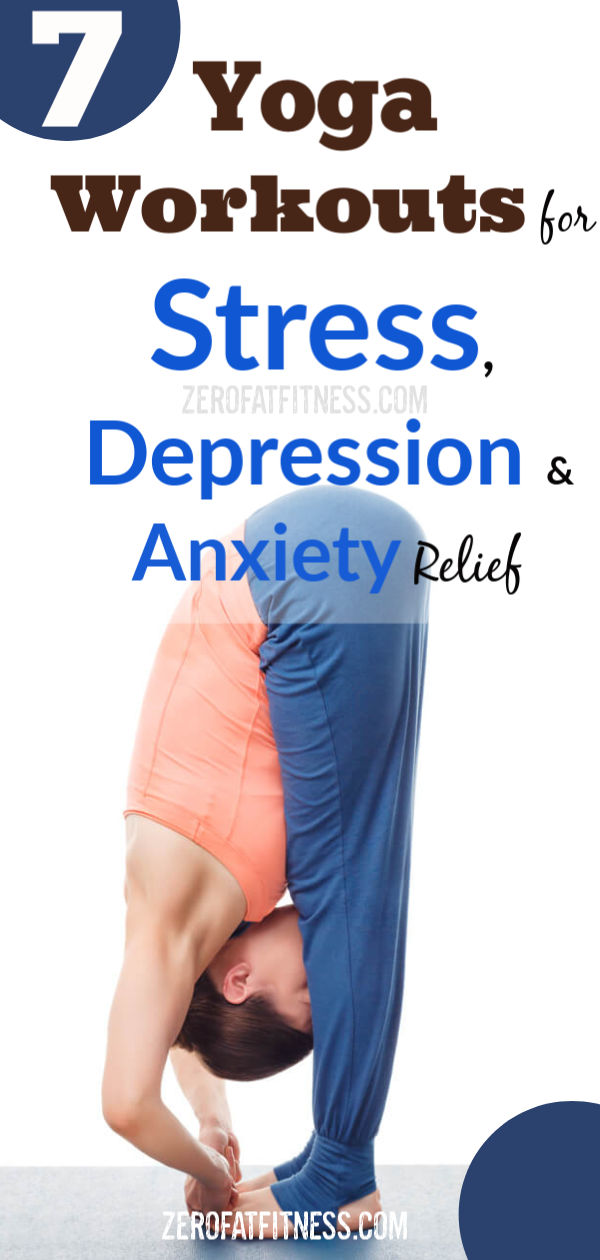 Yoga Workout for Stress, Depression and Anxiety Relief