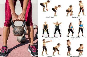 11 Best Full Body Kettlebell Workouts for Weight Loss and Flat Belly at Home