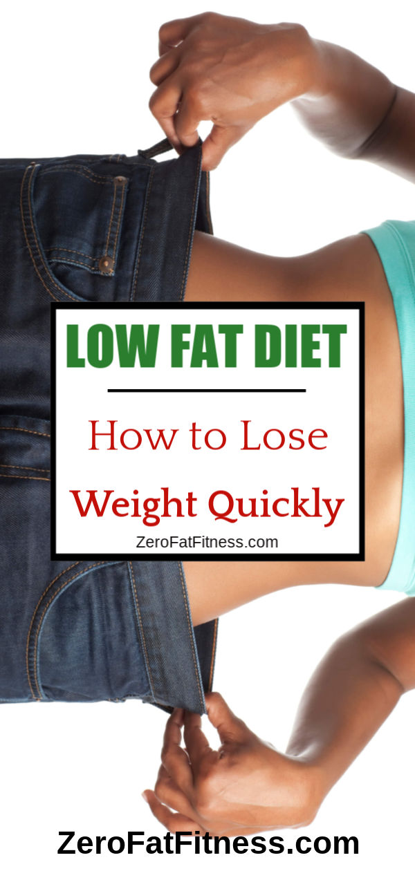 How to Lose Weight Quickly with Low Fat Diet Recipes