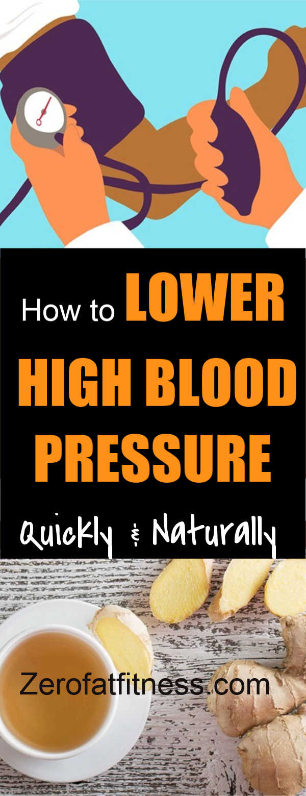 How to Lower High Blood Pressure Naturally and Quickly at Home