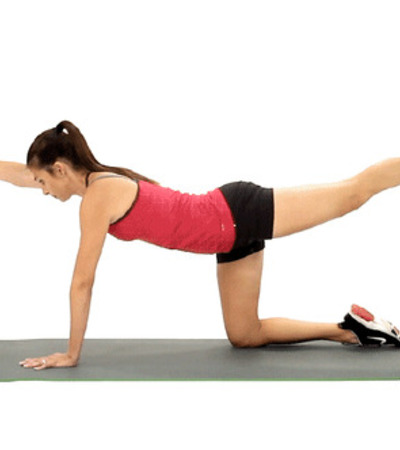 bird dog kegel exercises for women