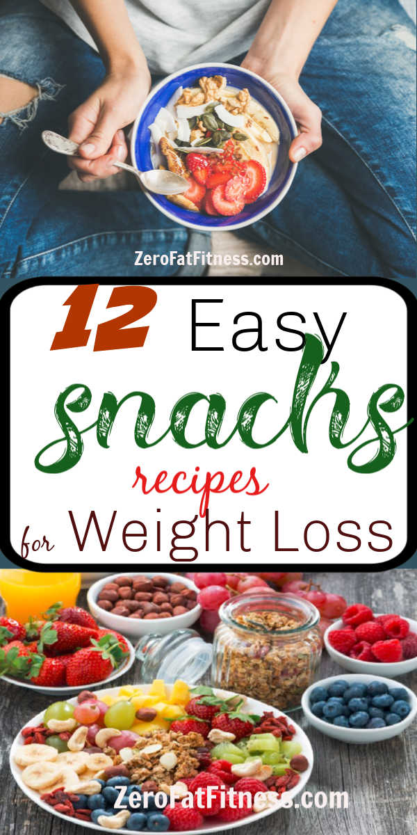 12 Healthy Fat Burning Snacks Recipes for Weight Loss and Flat Belly at Home