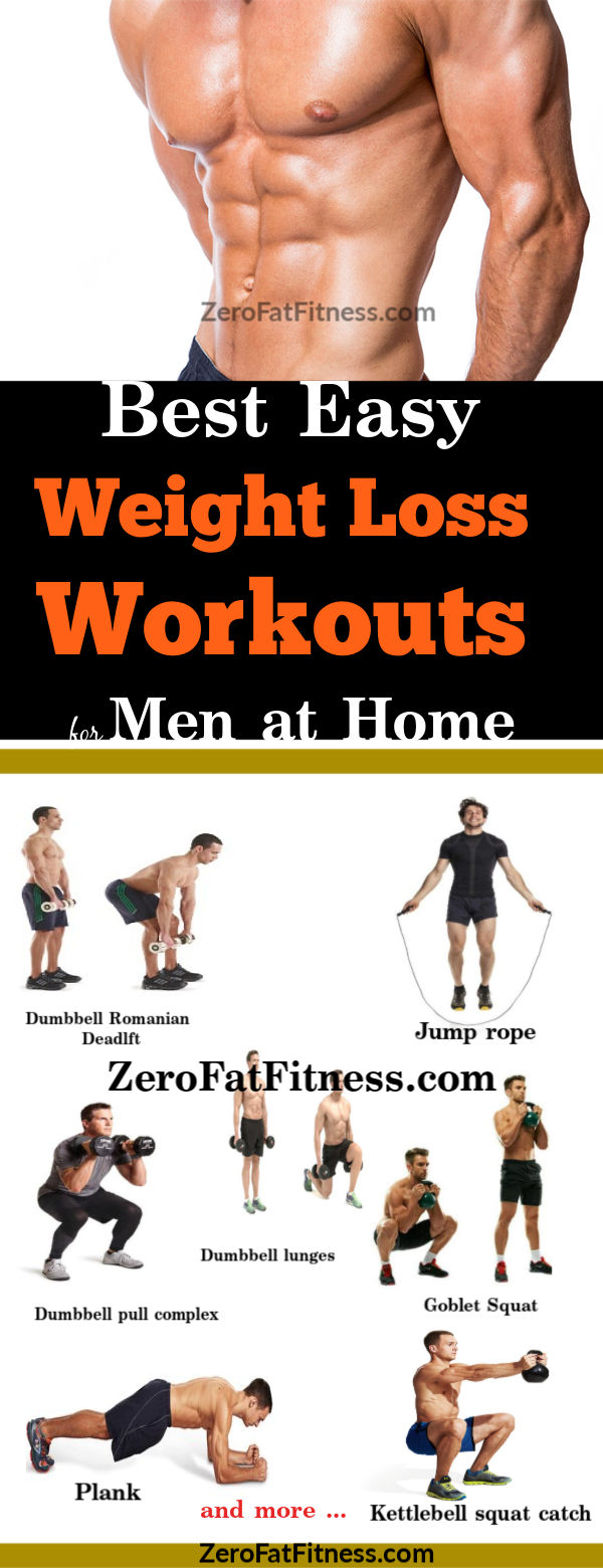 9 Best Weight Loss Workouts for Men at Home