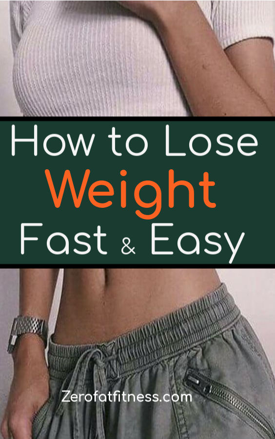How to Lose Weight Fast and Easy-5 Ways to Burn Fat Naturally at Home