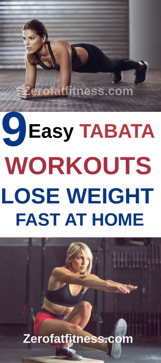 9 Best Tabata Workouts for Fat Burning and Flat Stomach at Home