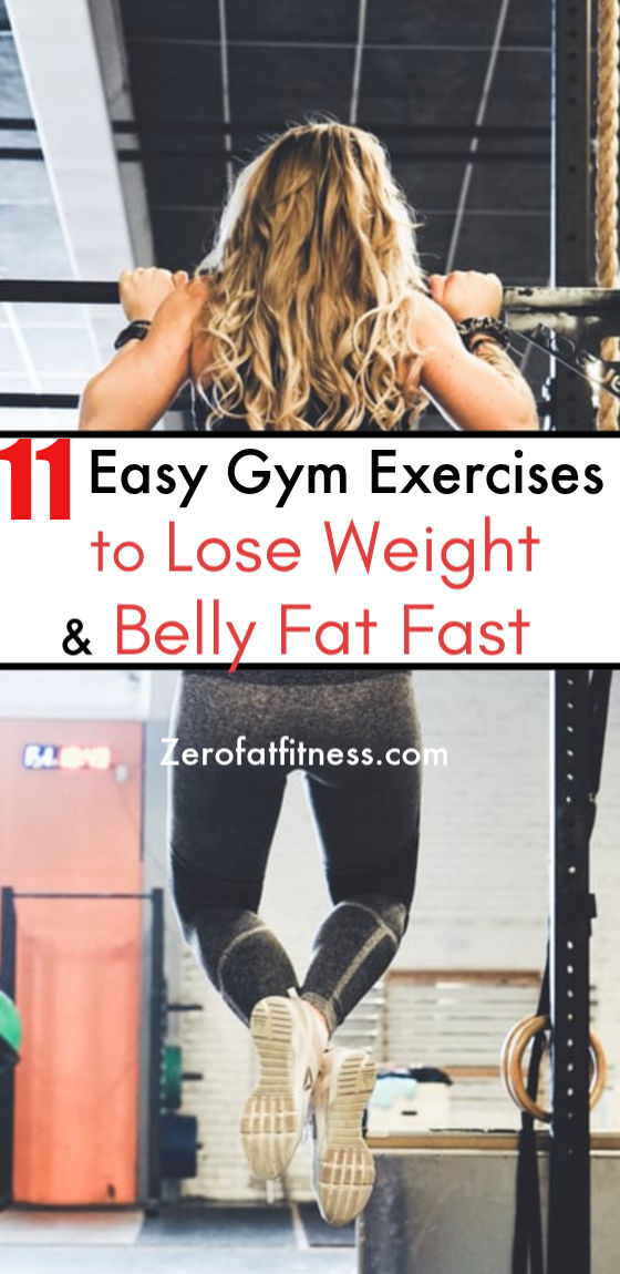 11 Best Gym Workouts for Beginner to Lose Weight and Belly Fat Fast