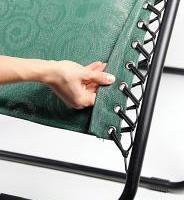 Camco zero gravity recliner hidden grommets