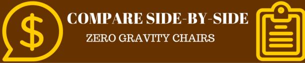compare anti gravity chair