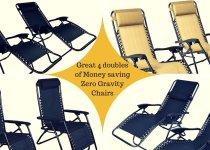 Great 4 doubles of Money saving Zero Gravity
