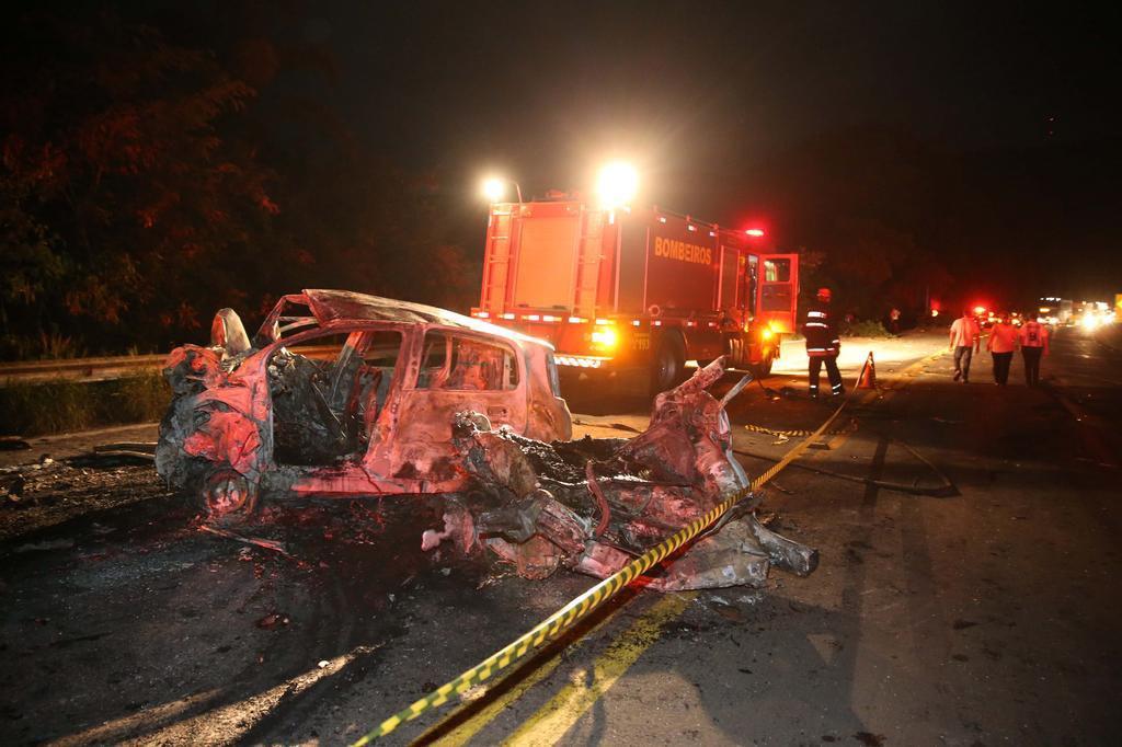 """""""Não sei como saímos vivos"""", conta vítima de acidente em Pouso Novo Ricardo Duarte/Agencia RBS"""