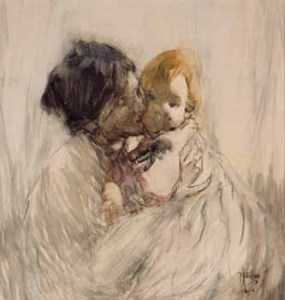 Frances Hodgkins, Mother Child