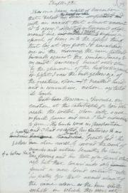 """""""FrankensteinDraft"""" by Mary Shelley (1797-1851) - http://www.bodley.ox.ac.uk/dept/scwmss/frank2.html. Licensed under Public domain via Wikimedia Commons - http://commons.wikimedia.org/wiki/File:FrankensteinDraft.jpg#mediaviewer/File:FrankensteinDraft.jpg"""