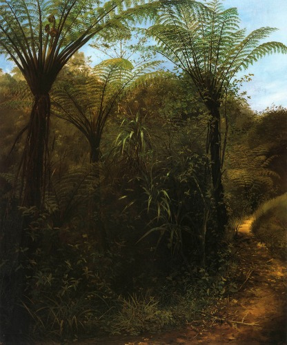 9445_Charles_Goldie_Painting_of_NZ_Trees