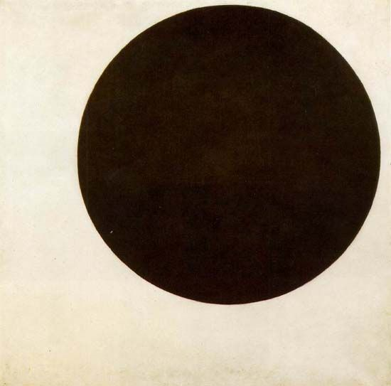 Black Circle, between 1923 and 1929, Kazimir Malevich