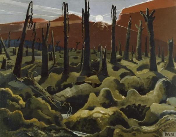 We Are Making a New World (1918), collection of the Imperial War Museum, London