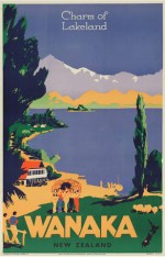 9561_Vintage_Poster_of_Wanaka_New_Zealand
