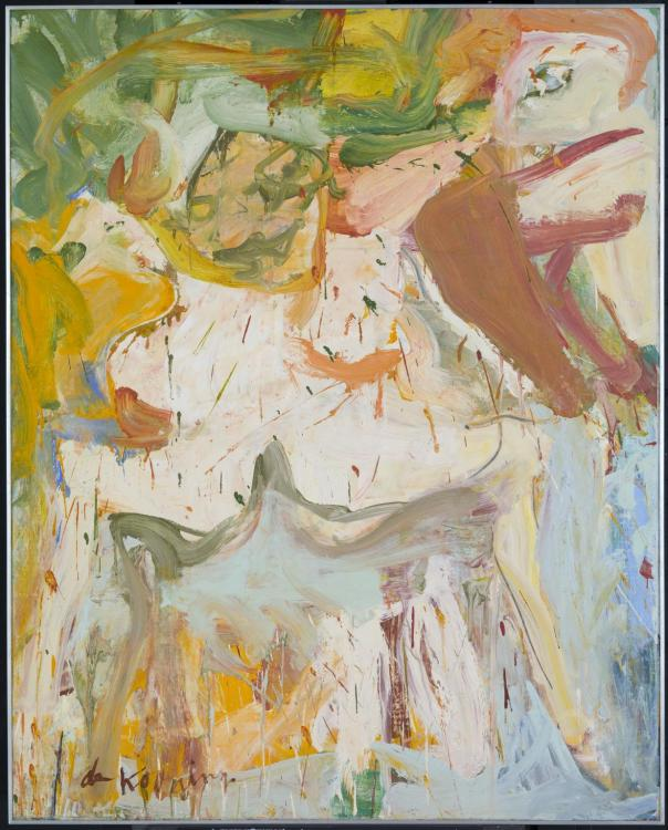Willem de Kooning The Visit 1966–7