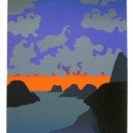 Back Beach Limited Edition Print by Michael Smither