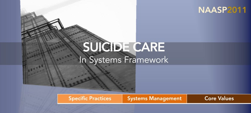 Suicide Care in Systems (2011)