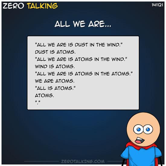 all-we-are-zero-dean