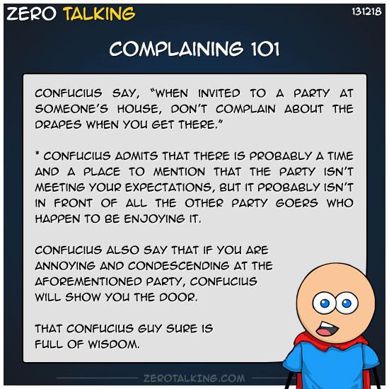 complaining-101-zero-dean