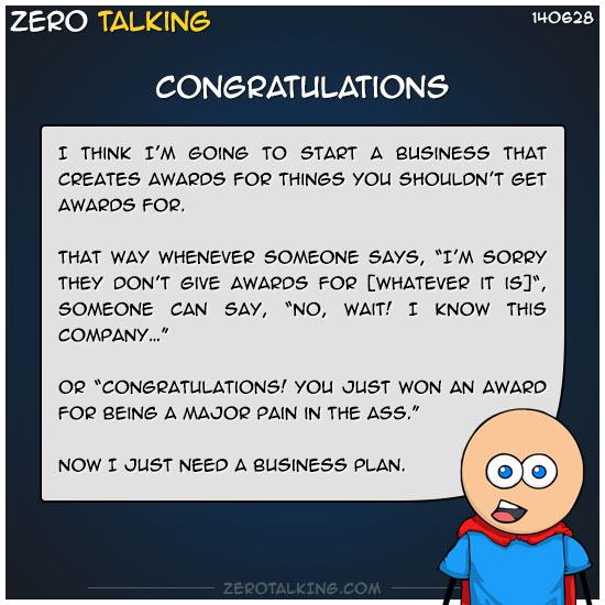 congratulations-zero-dean