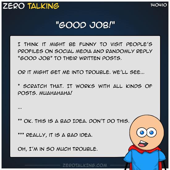 good-job-zero-dean