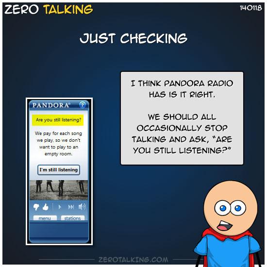 just-checking-zero-dean