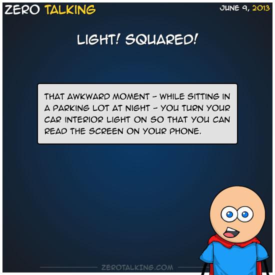 light-squared-zero-dean